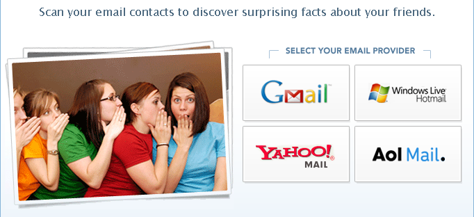 find online profiles of gmail friends