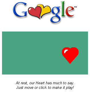 Heart google Doodle
