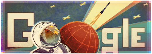 Space google Doodle