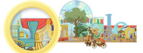 Worlds Fair google Doodle