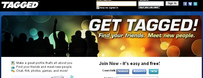 Social Websites Like Tagged