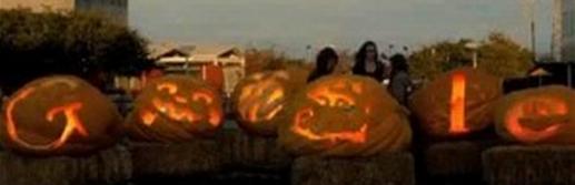 Halloween Google Doodle 2011