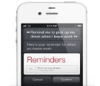 Virtual Personal Assistant (Siri) in iPhone 4S