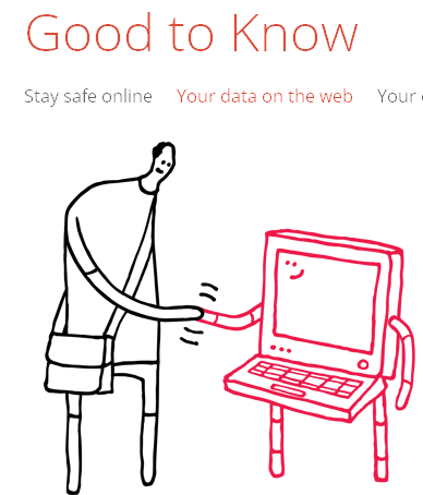 Online Safety tips website from Google