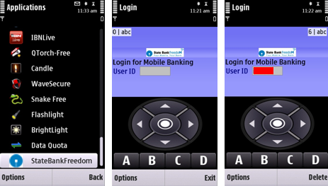 Install sbi mobile banking on your Mobile Phone