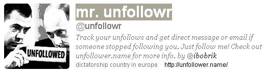 get alert of who unfollowed you on twitter