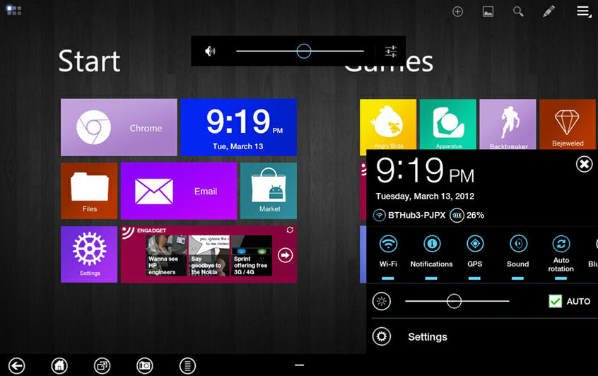 Apply Windows 8 Metro UI Themes For Your ANdroid Tablet devices