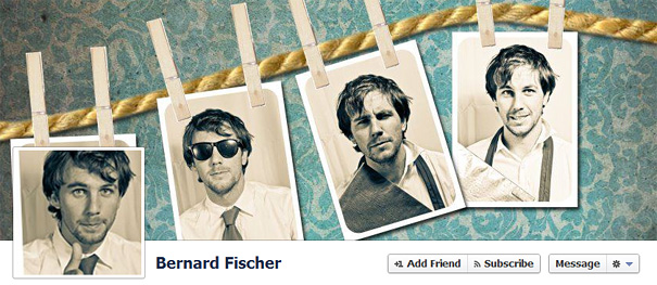 retro facebook   timeline cover