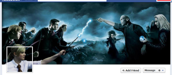 magical facebook cover design