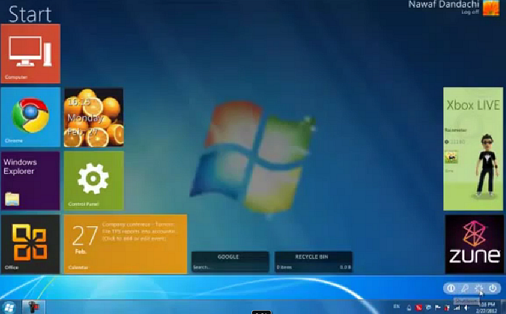 Windows 8 Metro UI Style Transformation Pack