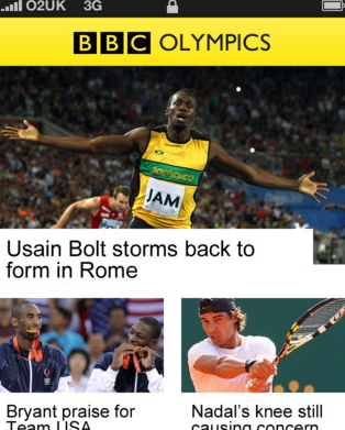 bbc olympics app for iphone and android