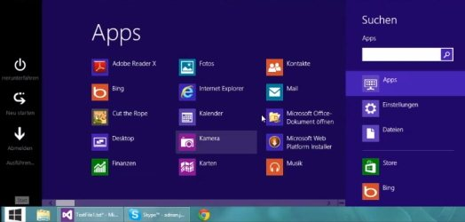 Win8startbutton is a free windows 8 start menu